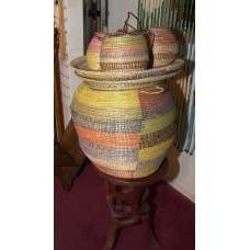 Hand Woven Baskets Small Hanging