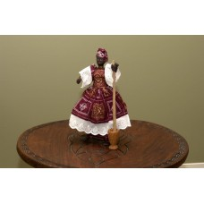 Large Dancing Doll With Morter & Pestle